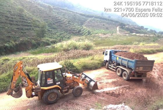 Manutenção de Faixa Mineroduto Samarco