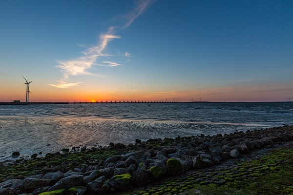 Os diques na Holanda