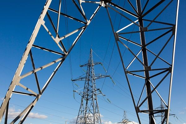 Faixa de Servidão e poste de energia